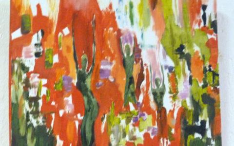 tableau-peinture-danse-abstraite