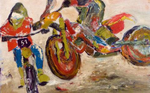 tableau-peinture-myriam-nouvel-motocross