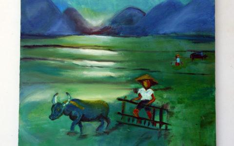 tableau-peinture-paysage-risière